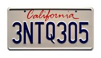 The Fast and the Furious | Paul Walker's Supra | STAMPED Prop License Plate