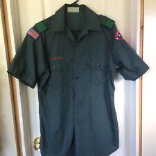 Boy Scout Venturing Scout Uniform Shirt Lake Huron Area Council Eagle Scout CSP