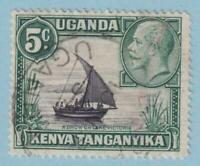 KENYA UGANDA TANGANYIKA 47A USED  NO FAULTS VERY FINE!