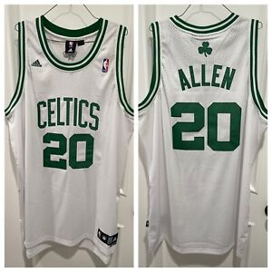 Ray Allen Boston Celtics Adidas Swingman Jersey 2XL White (NWOT)