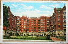 Pittsburgh, PA 1930s Postcard: Morewood Gardens - Pennsylvania