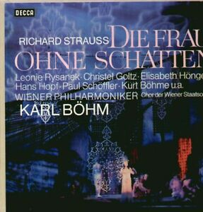 Strauss - Frau ohne Schatten 4 LP, Rysanek, Höngen, Hopf, Böhm