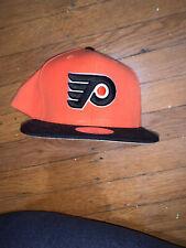Philadelphia Flyers Mens Snapback Orange Black Hat