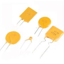Fusible de auto-recuperación pptc Dip Pitch 5 mm 16 V 30 V 60 V 72 V 250 V 0.06 A 0.2 A 0.4 A - 12 A