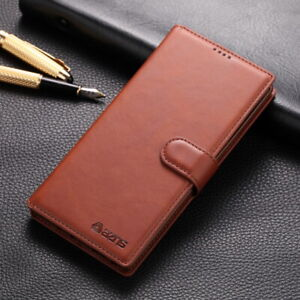 Genuine Leather Case Multi-Function Wallet Flip Stand  Cover For Smart Cellphone