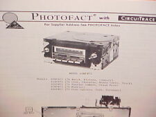 1976 GM BUICK CHEVROLET TRUCK OLDSMOBILE PONTIAC 8-TRACK/AM RADIO SERVICE MANUAL