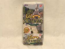 Lot of 50 Tel Sin Limite $7 International Calling Cards - $350 Value