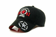 New listing New 1941 Black Jeep Hat Cap Women Men Unisex baseball Golf Ball Sport cap Black