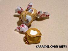 CARAMEL CORN Salt Water Taffy Candy - TAFFY TOWN - 25 Pieces