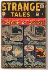 MARVEL Comics STRANGE TALES 96 G-  low  grade I DREAM OF DOOM KIRBY DITKO