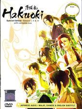 Hakuoki Demon of the Fleeting Blossom DVD Complete Season 1 - 3 + Bonus OVA 1-6
