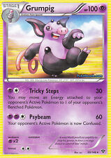 GRUMPIG 50/146 - XY POKEMON RARE CARD - IN STOCK NOW!