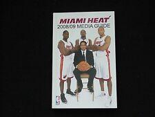 2008-09 Miami Heat NBA Basketball Media Guide