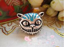 Fashion Retro Unique The Cheshire Cat Anti Silver Ring Size 7