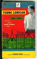 YOUNG LONIGAN by James Farrell, rare US Signet sleaze noir crime pulp vintage pb