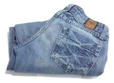 BKE DENIM Women's 26 Bootcut Low Rise Capris Jeans Cotton Light Wash Distressed