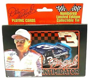 Dale Earnhardt #3 Limited Edition Collectible Tin Playing Double Card Set SN#524