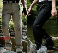 Men's Military Army Combat Cargo Trousers Tactical Airsoft Work Overalls Pants