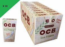 OCB Filtres SLIM ECO BIO  6 MM Lot de 10//15 ou 20 Sachets au Choix