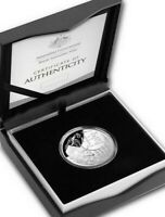 2021 Australia 1 oz Silver Lunar Year of the Ox Proof (DOMED) BOX/COA
