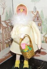 Byers Choice Caroler Yellow Easter Chick with Basket 2017 *
