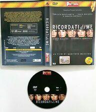 Ricordati di me (2002) DVD Editoriale