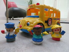 FISHER PRICE - LITTLE POEPLE - bus scolaire - school bus