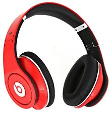 Monster Yao Beats by Dr. Dre Beats Studio Headband Headphones Red For Parts😢