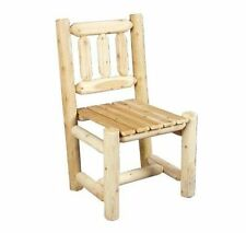 Rustic Natural Cedar Furniture 0100003 Dining Chair
