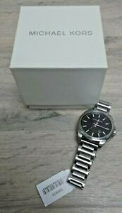 2019 Stainless Steel Silver Tone 42MM Michael Kors Bryson Watch MK863 NEW