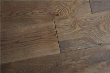 Engineered HDF 10 mm x 2.5 mm x 127 mm brossé Moka Cliquez Oak Wood Flooring