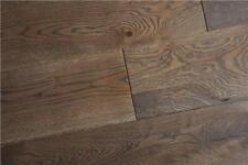 Engineered HDF 10mm x 2.5mm x 127mm Brushed Mocha Click Oak Wood Flooring