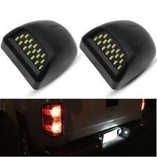 Pair For 00-06 Chevy Tahoe Suburban GMC Yukon XL LED License Plate Light Housing