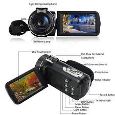 "Ordro HDV-Z20 1080P Microphone Video Camera 3.0"" Touch Screen 16x Zoom 8MP HDMI"