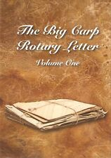MAYLIN ROB FISHING BOOK THE BIG CARP ROTARY LETTER VOLUME ONE 1 I hrdbk BARGAIN