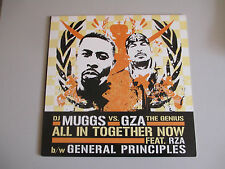 DJ MUGGS VS. GZA-ALL IN TOGETHER/GENERAL PRINCIPLES-  RECORD-ANGELES 3111-2005