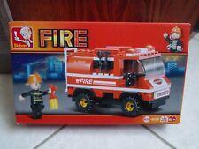 Briques Sluban Fire camion de pompier neuf