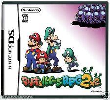 Used DS Mario & Luigi RPG 2  NINTENDO JAPANESE IMPORT