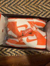 Nike Dunk Hi Be True to Your School Syracuse Orange Mens Size 15 SB 317982-118