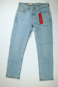 Mens Levis 514 Straight Fit Regular Light Blue Jeans NEW! NWT