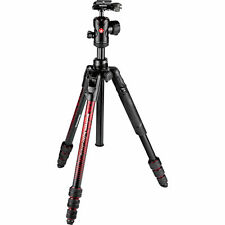 Manfrotto (Red) Befree Advanced Travel Tripod with Ball Head Mfr # MKBFRTA4RD-BH