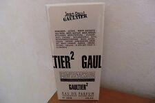 Jean Paul Gaultier 2 Eau De Parfum 120ml Unisex NEU OVP in Folie