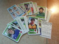 original FOOTBALL STICKERS PANINI FOOT 86 1986 FRANCE Choisir dans liste