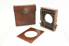 Thornton-Pickard Time & Inst Shutter w/ Original Leather Case, VERY RARE! V4092