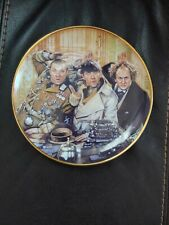 """1993 Franklin Mint The Three Stooges Limited Edition Collectors Plate 8 1/8"""""""