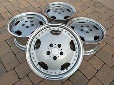 Perte Work Aero Old School 90s Jdm 17x98 2 Piece Monoblock Wheels Rims 5x1143