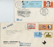 Ersttagsbrief 1982 Argentinien Argentina FDC Puerto Soledad Briefmarken gelaufen