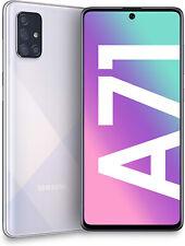 """Nuevo Samsung Galaxy A71 Doble Sim SM-A715F Plata 6.7"""" LTE 128GB Desbloqueado de fábrica"""