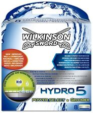 WILKINSON SWORD HYDRO 5 GROOMER / POWER SELECT BLADES - 8 PACK