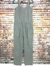 Daughters Of The Liberation Womens Sz 12 Khaki Green Jumpsuit Romper Overalls L